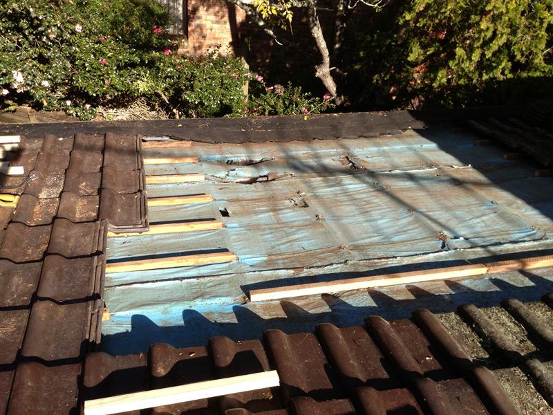 Rotten Roof Repair