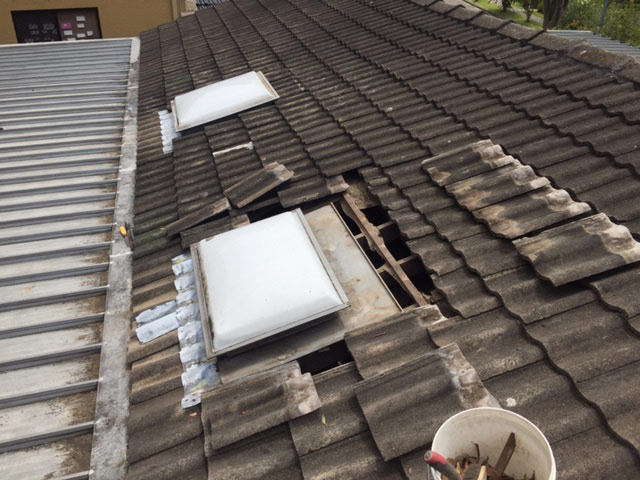 Cmf Plumbing Roof Cleaning At East Ryde Cmf Plumbing
