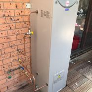 CMF Plumbing replace hot water unit in Ryde NSW