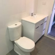 Bathroom fit out at Brookvale by CMF Plumbing