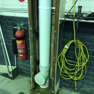 CMF stormwater downpipe at Artarmon