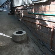 CMF Plumbing Replacement of old rusted gas service at Beecroft