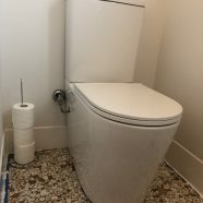 New toilet and basin at Carlingford